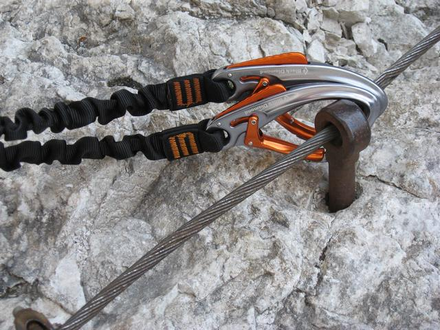 Klettersteigset Black Diamond : Klettersteigset für selbstschutz black diamond easy rider kibuba