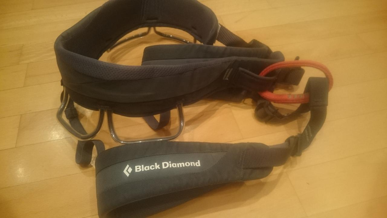 Black Diamond Klettergurt Couloir : Black diamond klettergurt couloir harness